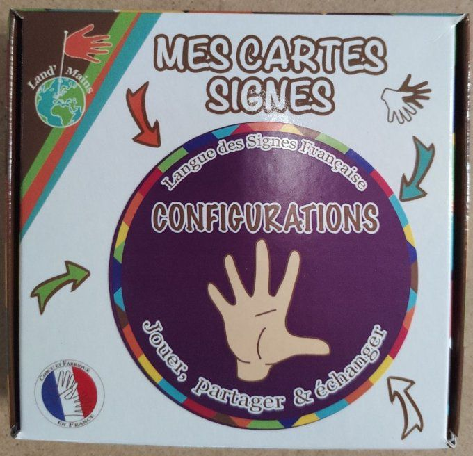 Configurations de Land'Mains LSF, signes